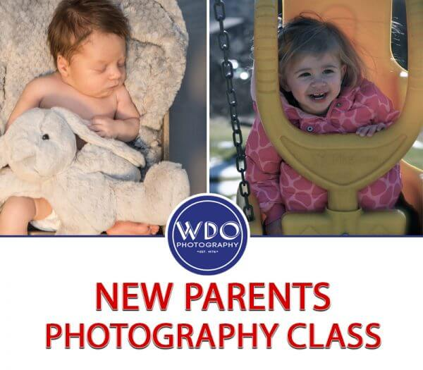 New Parents Photography Class