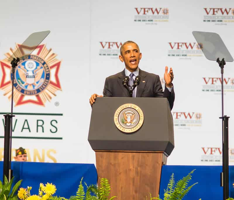 President Obama at VFW Conference