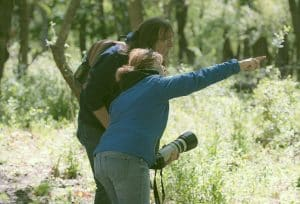 Nature Photography Walk Students
